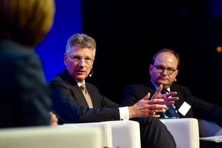 B20-Gipfel: Continental-Chef Degenhart plädiert für Forschungsförderung statt Kaufanreize