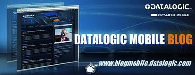 """Der """"Datalogic Mobile Blog""""  bietet Informationen aus der Welt der mobilen Datenerfassung"""