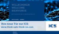 Startbildschirm der neuen ICS-Weichenseite für Deutschland und die Schweiz