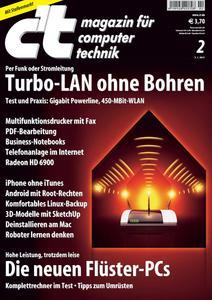 Das Titelbild der aktuellen c't-Ausgabe 2/2011