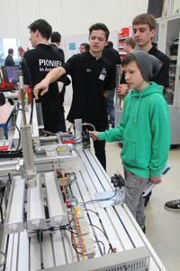 """Eindrücke vom """"Ausbildungs- und StudienDIALOG 2013 bei der WITTENSTEIN AG"""