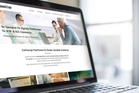 Die neue Startseite navigiert Besucher eingängig zu den verschiedenen Anwendungsszenarien von Daten-, Service- und Sales-Plattformen.