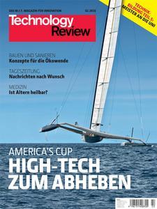 Das Titelbild der aktuellen Technologie-Review 2/2010