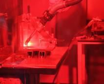 """Fig. 6a: """"Welding with the robot is quick and of a constantly high quality…"""