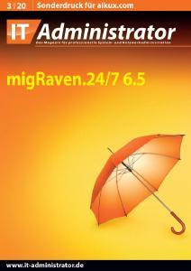 IT-Administrator: migRaven.24/7 im Test