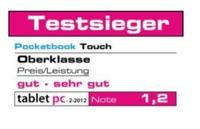 Tablet PC Testsieger: PocketBook Touch