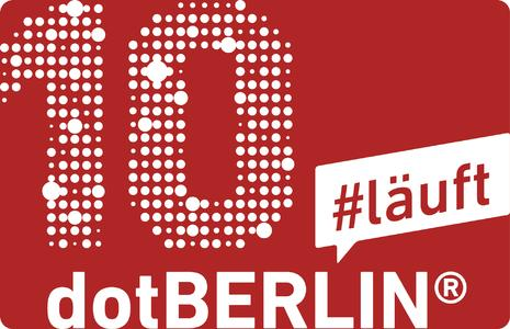 10 Jahre dotBERLIN - #läuft.