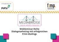 [PDF] MEDIABridge: Startschuss für neue WebSeminar-Reihe