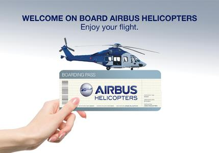 Airbus Hcs Boarding Pass