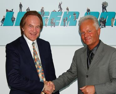 Tony Koszykowski (left) and Armin Luft are happy about the new partnership