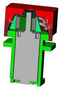 Querschnitt Mikropumpe
