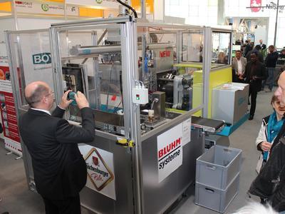 Automated, energy-efficient BOY 60 E at Hannover Messe 2014