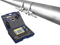 Clamp-on Ultraschallzähler portabel mit Tragekoffer und Aufschnalltechnik