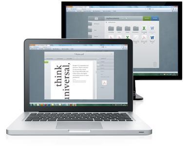 Mit dem HTML5-Client können die Desktop-Funktionen von Cortado Workplace überall genutzt werden: auf dem mobilen Endgerät ebenso wie mit PC, Mac und Notebook