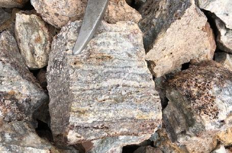 Erz von Cerro Caliche / Foto: Sonoro Metals