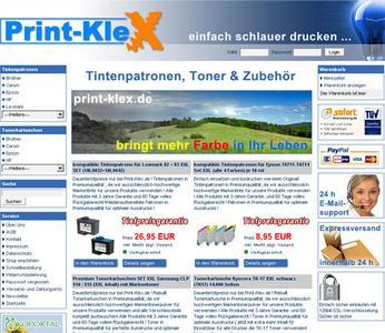 Shop für Druckerzubehör und Technik (ca. 45.000 Artikel)