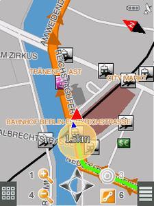 NAVIGON MN7 Fußgängernavigation Symbian