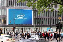 Videro 3.2 Software steuert LED-Screen am Kurfürstendamm in Berlin.