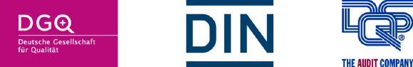 Logos DGQ DIN DQS