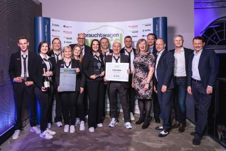 """Das Fachmedium """"Gebrauchtwagen Praxis"""" hat den """"Gebrauchtwagen Award 2020"""" verliehen / Foto: S. Bausewein"""