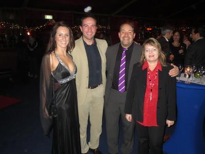 Sabrina Knoch, Adnan Udovcic und Ralph & Beatrix Csernai (von links)
