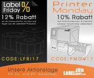 Label Friday und Printer Monday bei Labelident