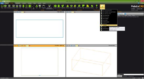 3D BIM CAD Modelle jetzt auch in Palette CAD verfügbar