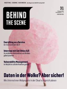 Neue Ausgabe von Behind The Scene