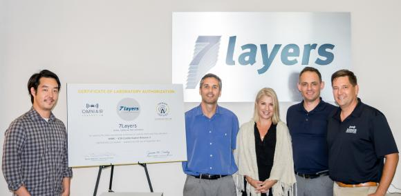 7layers First Authorized Test Laboratory For DSRC-V2X Technology