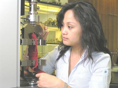 Zwick's testing equipment is used in quality control laboratories around the world