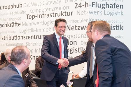 Geschäftsführer Rui Macedo und die Sievert Handel Transporte sind auf der transport logistic wie 2015 am Gemeinschaftsstand des Netzwerks Logistik Leipzig-Halle e.V. zu finden / Foto: sht