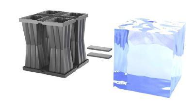 Aqua-Box ist ein unterirdisches Kunststoffmodul, in dem Wasser gesammelt und gespeichert wird, wodurch die Rechnungen für Trinkwasserzwecke im Haushalt  gespart werden:  •Waschmaschinen;  •Sanitäranlagen und Hygiene;  •Bewässerung der Pflanzen;  •Bewässerung von Grünflächen und Gartenarbeit;          •Fahrzeuge waschen.