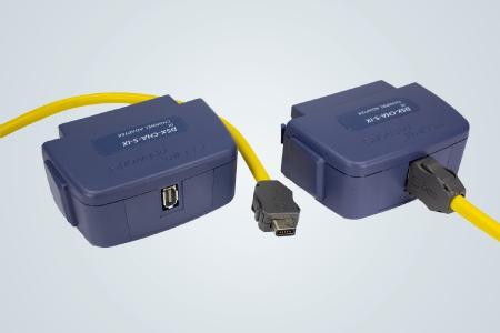 Der ix Industrial® -Adapter für die DSX CableAnalyzer-Serie wird von FLUKE networks hergestellt und ist ausschließlich über HIROSE- und HARTING Vertriebspartner erhältlich. Der Support erfolgt über die bekannten FLUKE Hotlines