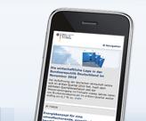 m.bmwi.de - Bundesministerium für Wirtschaft und Technologie startet mobile Version