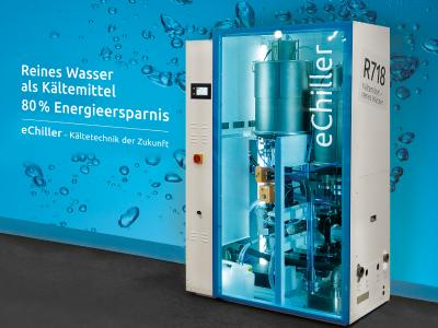 Der eChiller – energetisch optimale Prozesskühlung bei  gleichzeitig minimalem Treibhauspotenzial