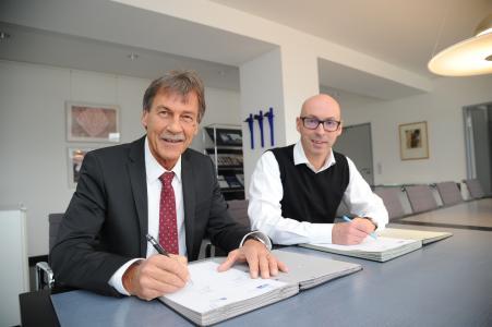 Dr. Hanno Dornseifer und Prof. Dr. Manfred Schmitt