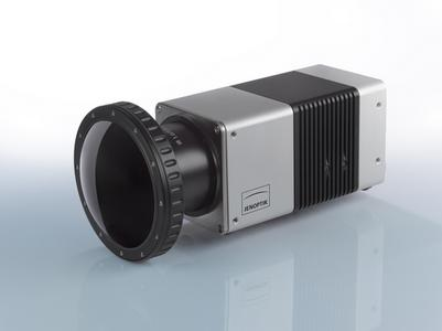 hybrid DLC coated 1.0 / 7.5 millimeter infrared lens mounted to IR-TCM HD thermographic camera