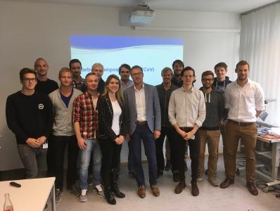 Das Trainee-Programm-Semester traf sich zum Start in Stuttgart am IFB