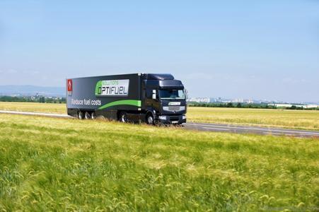 Der Renault Premium Optifuel mit klassischem Dieselantrieb bliebt bis auf Weiteres die optimale Lösung für den Überland und Fernverkehr