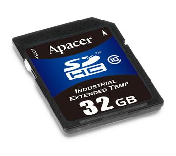 Apacer Industrial SSD, SD Card