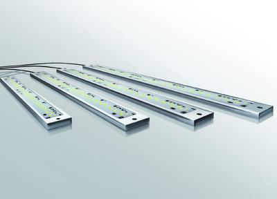 Robuste LED-Leuchten in IP69K