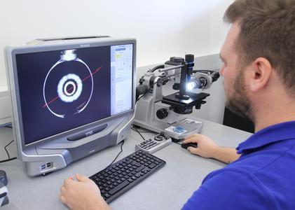 Bildauswertung bei der Überprüfung des Stators eines eco-PEN