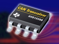 TI Introduces High-Speed CAN Transceiver with 8 kV Electrostatic Discharge Protection for Harsh Environments