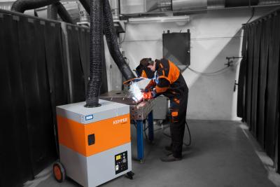 Boom for extraction systems in the UK: Welding companies trust in KEMPER
