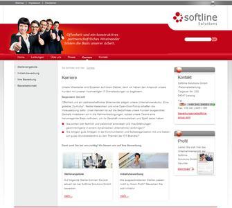 Neuer Web-Auftritt der Softline
