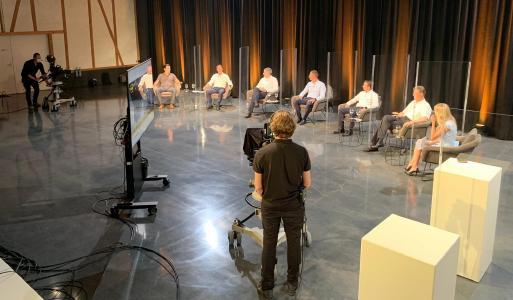 InfoGuard Security Lounge 2021 - CxO Podiumsdiskussion