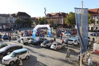 WAVE Germany 2019 – Zieleinfahrt auf dem Schlossplatz in Erlangen (Bildquelle Kurt Fuchs / Drive-E)