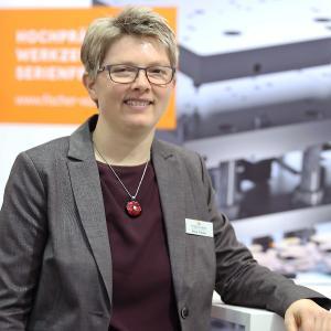 Silvia Fischer, Geschäftsführerin Fischer Werkzeugbau, Geringswalde