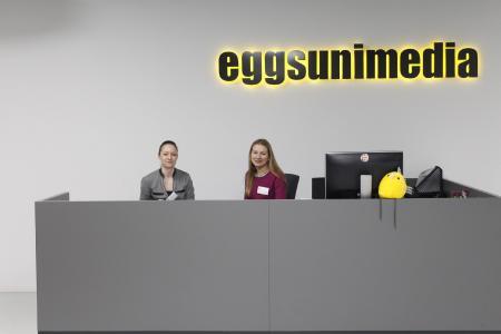 Empfang bei eggs unimedia