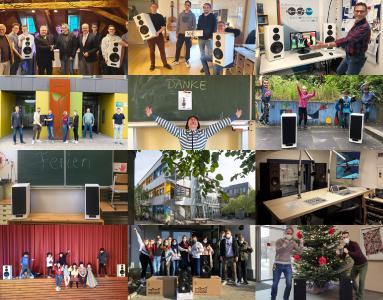 Nubert macht Schule: Die Siegerinnen 2020